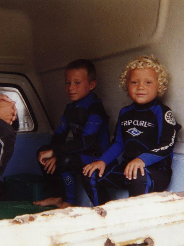 TOM & NELS Cloarec enfants en combi