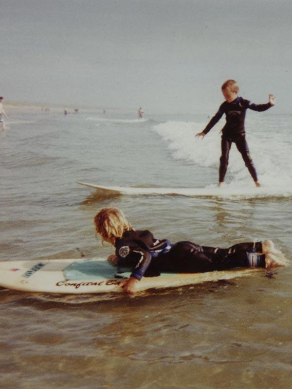TOM & NELS Cloarec enfants premier surf